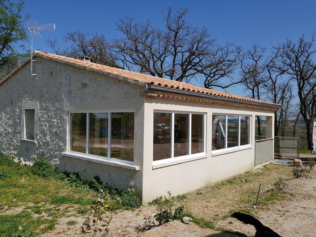 fermeture terrasse gers